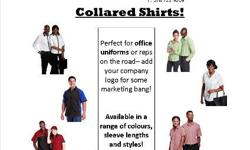MEN'S LOUNGE SHIRTS Perfect for office uniforms,
