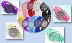 Men's style silicone watches Bought to you by