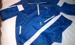 Beskrywing Mens puma tracksuits avail in chelsea blue,
