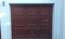 MERANTI TIP UP GARAGE DOOR DOOR IS COMPLETE WITH ALL