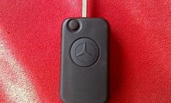 Mercedes 1 Button Flip Key Remote Case/Shell/Fob Brand