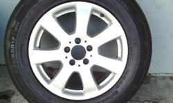 Merc Benz ML Mags and tyres Set of 4 235/65/R17