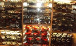 ,Beautifull Merc collection,plus display cabinets(x3)