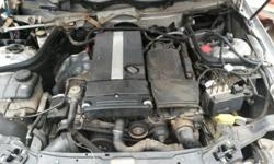 Mercedes C230 Stripping for spares Engine 271 still in