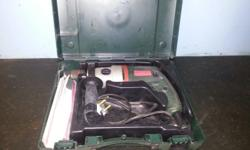 Metabo drill SBE 705 705 watt Used twice Still in box