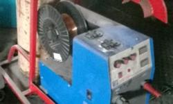 MIG WELDER FOR SALE WITH GAS BOTTLE AND REGULATOR