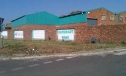 Mini Factory available for rent @ R40psm or for sale @