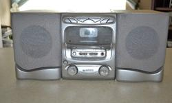 Mini HiFi, With various DVD's, PC Games and Music Cd's.