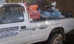 Driver with own bakkie available to do mini moves,
