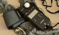1 x Minolta Flash Meter IV Manual & Pouch included;