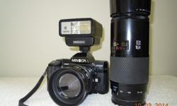 MINOLTA 7000 film camera in perfect condition. Complete