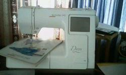Beskrywing Bernette 340 Deco Embroidery Machine