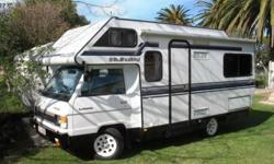 WJ Motorhomes Companion camper. In excellent condition,