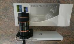 Mobile telephoto lense with up to 8x zoom for most