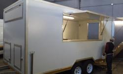 AT STORMERS TRAILERS WE MANUFACTURE MOBILE FOOD KIOSKS,