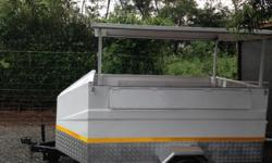 Mobile shop trailer Can be used as as hot dog stand or