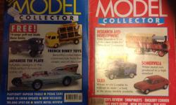 A collection of 76 Model Collector Magazines from