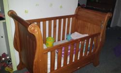 hi , i have a practically brand new cot for sale - wood