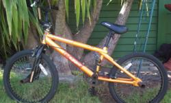 "Beskrywing Mongoose ""Subject"" BMX bicycle. Good"