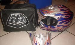 Troy Lee Design Motocross Helmet, awesome helmet, like
