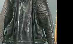 Motorbike leather jacket. Very good condition, no tears