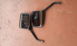 Universal motorcycle mirrors for sale.