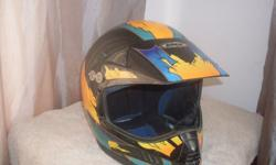 "Mototcross Helmet ""DOT / VMX make"" Large"