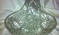 Moulded glass Height 21cm Width 22cm