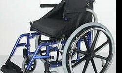 Beskrywing A true aluminium wheelchair, the ALU LIGHT