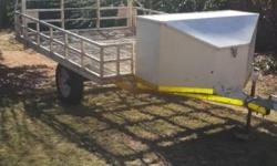 MULTI PURPOSE TRAILER WITH LARGE NOSECONE.CAN BE USED