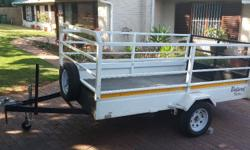 Multipurpose Utility Trailer made by Bulperd Trailers