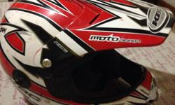 Great condition and Sizes are:S, L, X/L R150/per helmet