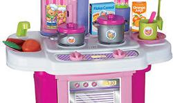My First Kitchen Playset Children are great at