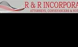Contact R & R Incorporated immediately on 0100350793 or