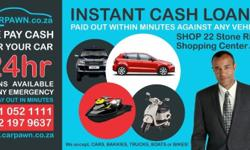 We offer cash loans against vehicles so that you don't