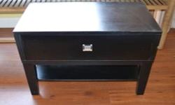 Never been used black pedestals with elegance and