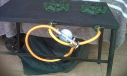 New 2 burner gas stove for sale,R600 gas bottle not