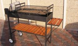 Soort: Braai Brand new, 3 in 1 braai, rotisserie and
