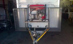 we build new trailers with a gas cage power and a gas