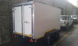 BRAND NEW COOLER / FREEZER TRAILER FOR SALE NEVER BEEN