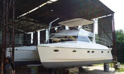 New Coplan 34 feet power cat for sale ex factory. Hull