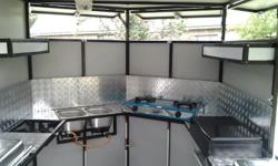 New Food Trailer for Sale. R37500.00 neg  3m x 1.8 x