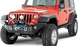 Beskrywing Jeep Wrangler wrap around bull bar. JEEP
