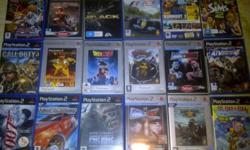 I have 37 Original immaculate condition PS2 games (no