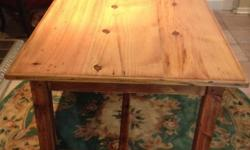 125 X 90 newly renovated table