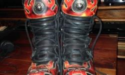 New Rock Reactor Boots, size 10, basically new, hardly