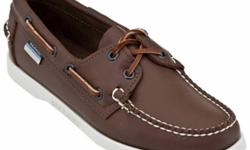 Beskrywing New Sebago Docksides Brown(coffee), Navy &