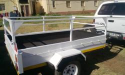 BRAND NEW TRAILER LENGTH 220cm X WIDTH 140cm AND A