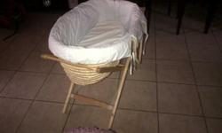Moses basket cot, my daughter has out grown it and in a