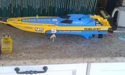 Hi there, I have a nikko remote control speed boat for